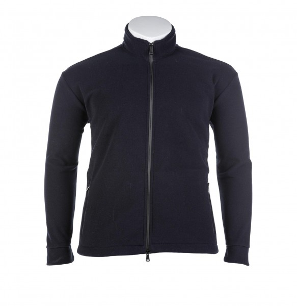 Fleece Weste mit Zipp