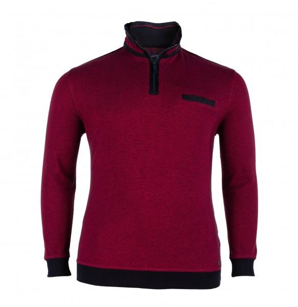 Troyer-Sweater mit Bund