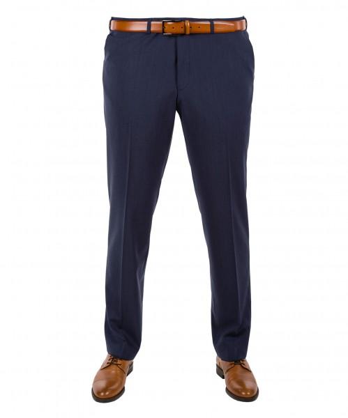 Anzug-Hose Flat-Front in Marine, Anthrazit, Grau, Blau oder Schwarz