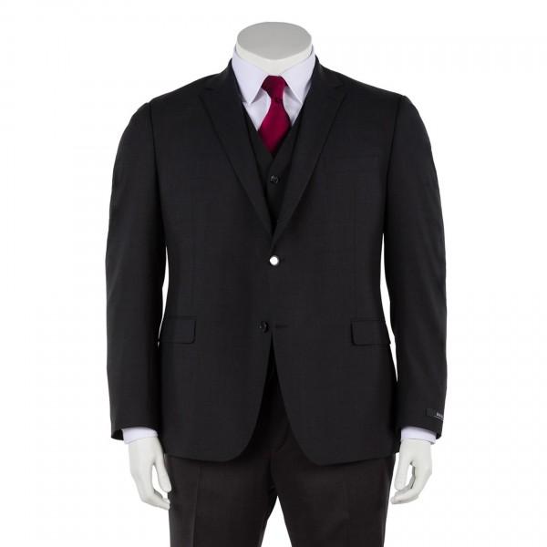Anzug Sakko Zwei-Knopf in marine, anthrazit und schwarz
