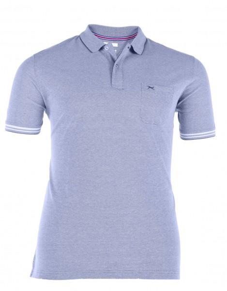 Polo-Shirt mit Knopfleiste kurzarm Piquet Basic