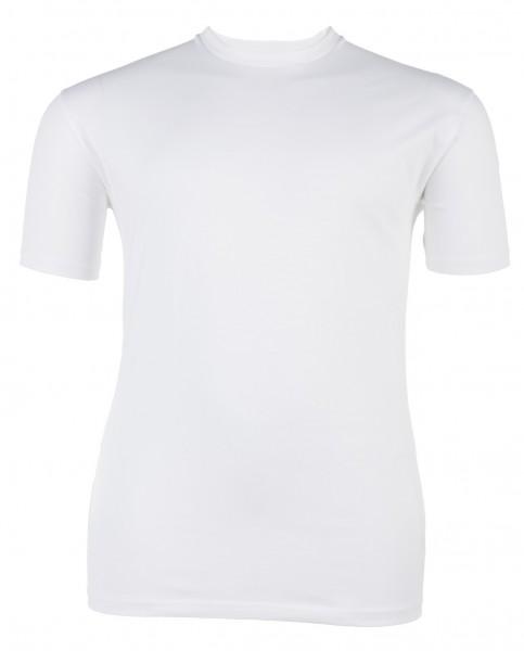 Rundhals-T-Shirt kurzarm Jersey Basic Doppelpack