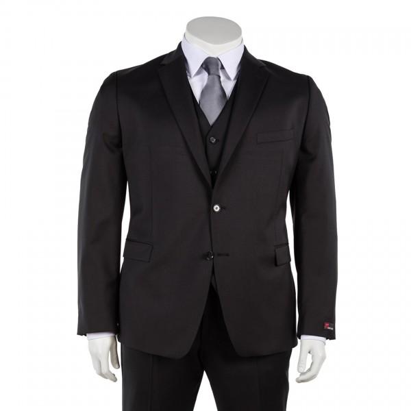 Anzug-Sakko einreihig in Anthrazit oder Schwarz