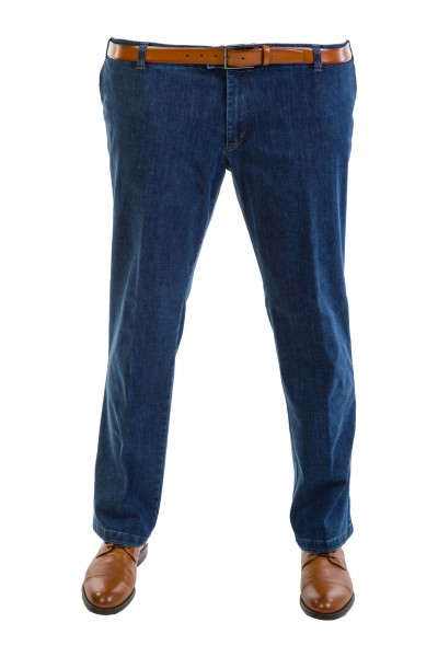 Hose Denim Chinos Flat-Front